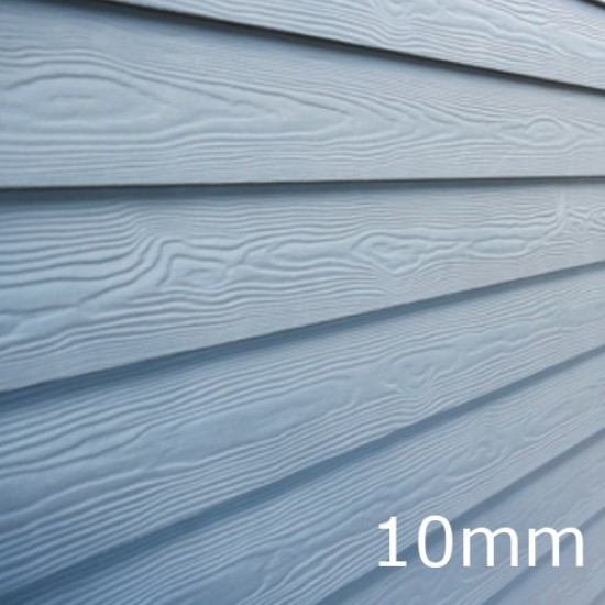10mm Cedral Lap Fibre Cement Cladding Board - Standard Painted - Wood Effect