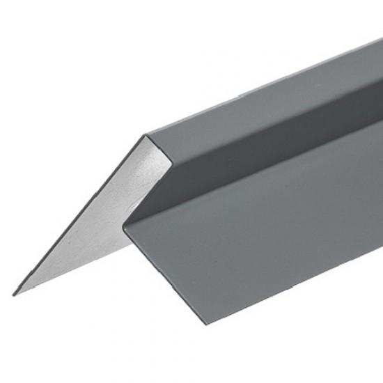 Cedral Lap Aluminium End Profile - End 65mm - 3m length