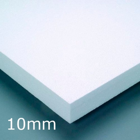 10mm White Expanded Polystyrene (EPS) for Insulated Render Systems - Ceresit CT305 (pack of 60)