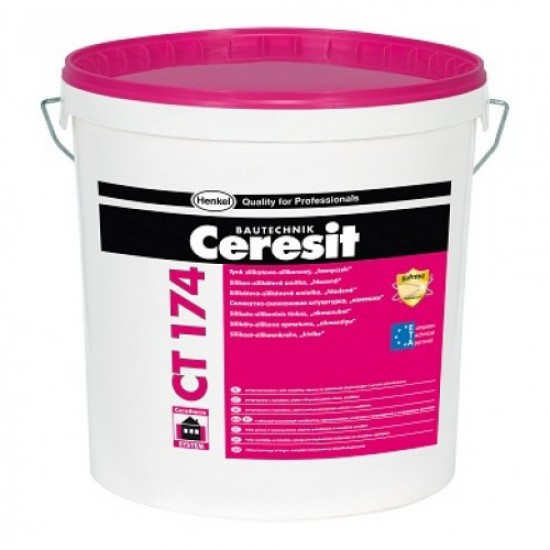 Ceresit CT174 Silicate-Silicone Render - 1.5mm grain