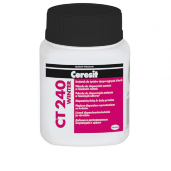 Ceresit CT240 Winter - Additive for Wet Renders and Paints - 100ml