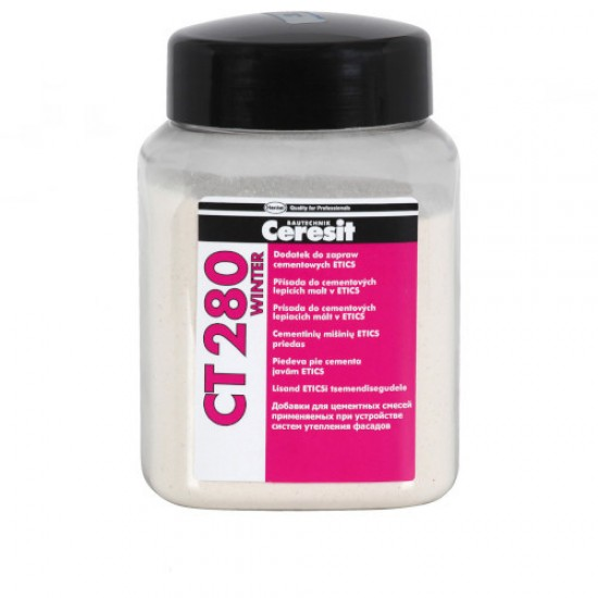 Ceresit CT280 Winter - Additive for ETICS and Wet Renders - 250ml