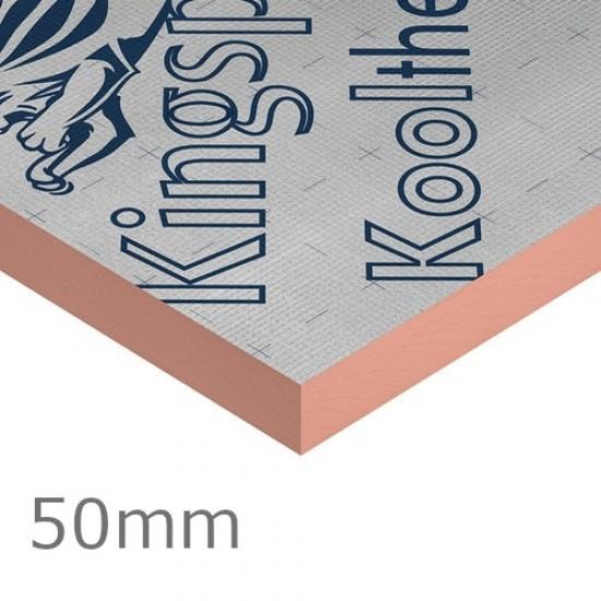 50mm Kingspan Kooltherm K15 Rainscreen Board - 1200mm x 2400mm - (pack of 6)
