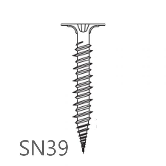 4.2mm x 39mm Knauf Aquapanel Maxi Screws SN39 - box of 500