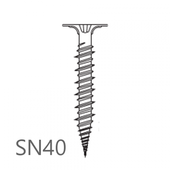 4.2mm x 40mm Knauf Aquapanel Maxi Screws SN40 - box of 250