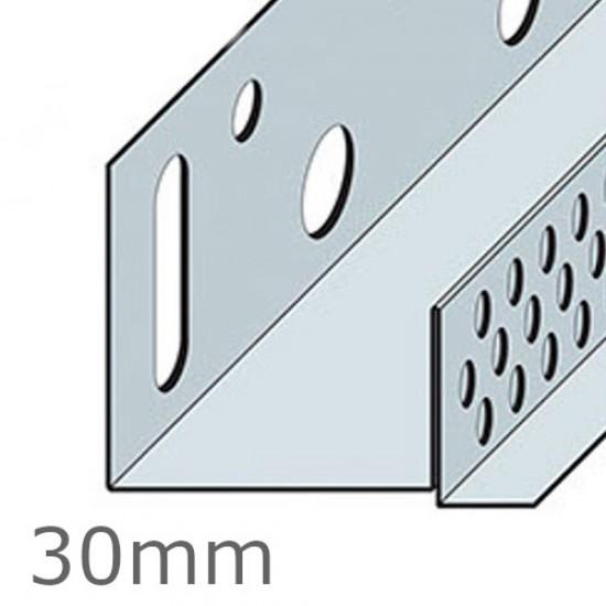 30mm Aluminium Brick Slip Base Profile - 2.5m length (pack of 10)