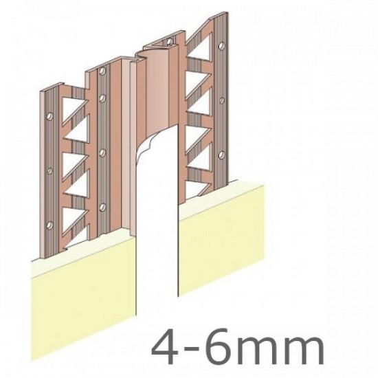 4-6mm Movement Bead PVC Length 2.5m (pack of 3).